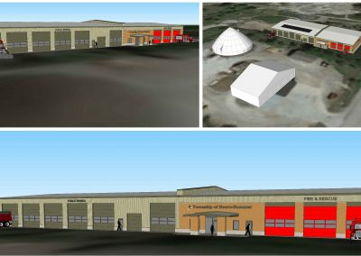 Design of a New Centralized PW Depot & Fire Station