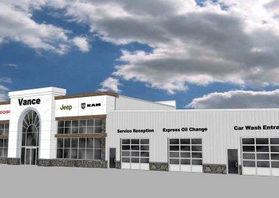 New Automotive Sales & Service Facility