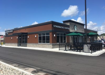 New Starbucks Restaurant, North Bay, ON