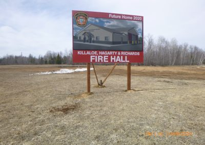New Killaloe Fire Hall